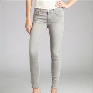 J Brand Gray 910 Skinny Jeans